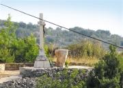 Postavljanje i blagoslov oltara kod križa u Velom Grablju