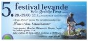 5. Festival levanede  - PROGRAM 2013.