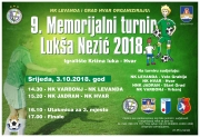 9. Memorijalni turnir Lukša Nezić 2018.
