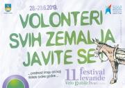 POZIV VOLONTERIMA NA 11. FESTIVAL LEVANDE 28,29.06.2019.g.