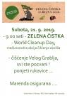 ZELENA ČISTKA - World Cleanup Day